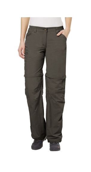 VAUDE Farley IV ZO Pants short Women fir green